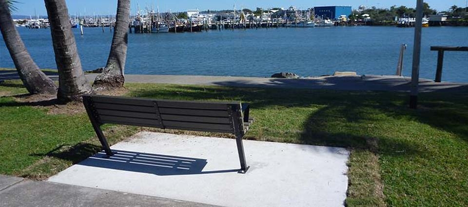 concrete-bench-sunshine-coast-council