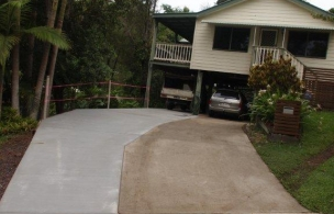 7. Driveway Extension finished