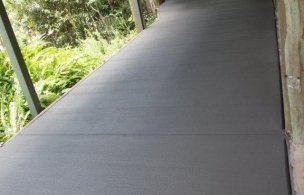 5. Driveway Extension finish to make use of under high set house