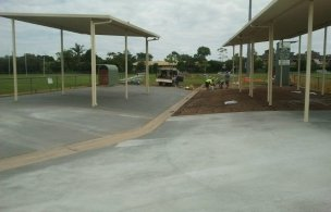 5. Maroochy Afl Spectator Area Staged Pour and Finish