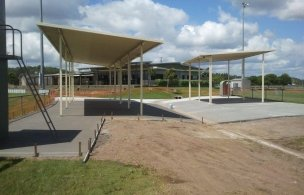 7. Maroochy Afl Spectator Area Finished Concrete